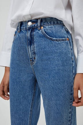 Pull & Bear Mom Fit Basic Jean 4