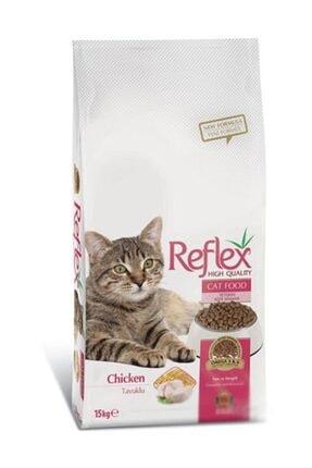Reflex Tavuklu Yetişkin Kedi Maması 15 kg 0