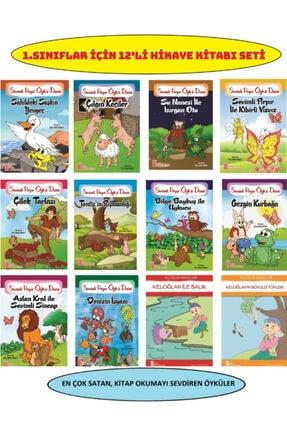 Ata Yayıncılık 1.sınıfların Severek Okuyacağı 12'li Hikaye Kitabı Seti 0