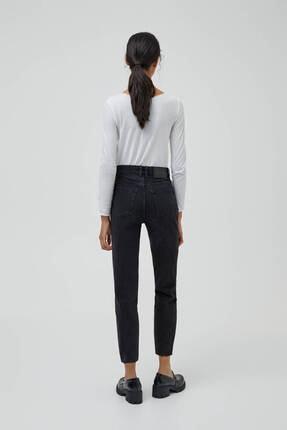 Pull & Bear Mom Fit Basic Jean 3