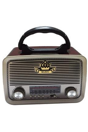 Nostajik Görünümlü Bluetoothlu Mp3 Çalar Radyo Müzik Kutusu AKCMARKETNOSTALJİKRADYO