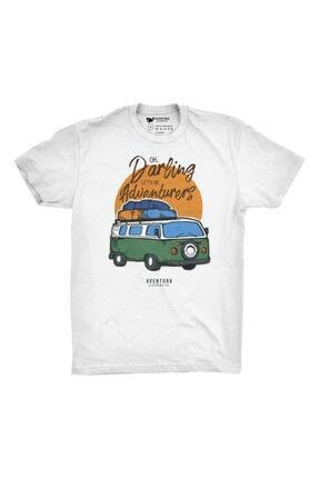 Aventura Clothing Co %100 Pamuk, Regular Fit, Bisiklet Yaka, Baskılı Tshirt - Good Vibes Only 4 2