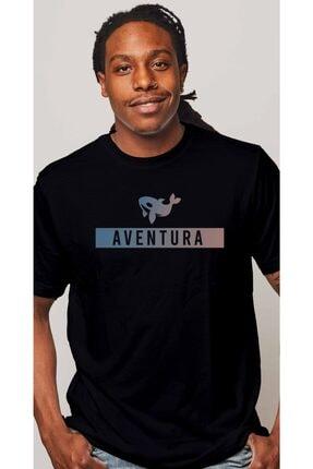Aventura Clothing Co %100 Pamuk, Regular Fit, Bisiklet Yaka, Baskılı Tshirt - Aventura Essentials 2 0