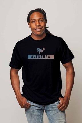 Aventura Clothing Co %100 Pamuk, Regular Fit, Bisiklet Yaka, Baskılı Tshirt - Aventura Essentials 2 1