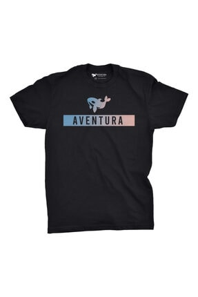 Aventura Clothing Co %100 Pamuk, Regular Fit, Bisiklet Yaka, Baskılı Tshirt - Aventura Essentials 2 2