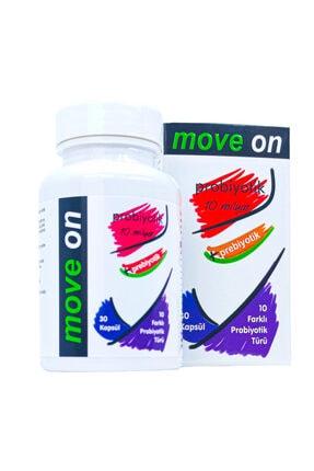 Move On Probiyotik (3 Adet) 10 Milyar + Prebiyotik 30 Kapsül Skt:2024 4