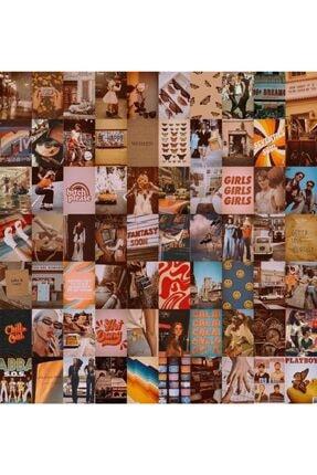 bukashops Vintage Retro 70'lı Duvar Posteri Seti 0