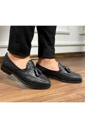 Erkek Siyah Ayakkabı 9155CKS