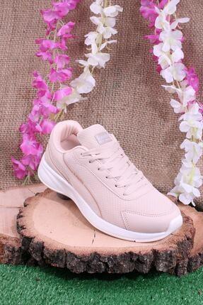 Kinetix Günlük Sneaker Yürüyüş Spor Ayakkabı Pudra 0