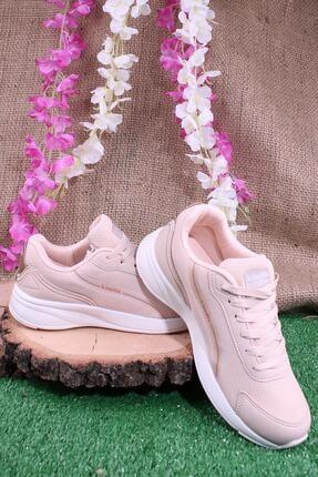 Kinetix Günlük Sneaker Yürüyüş Spor Ayakkabı Pudra 3