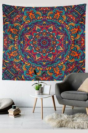 Kozmik Tapestry Mandala Duvar Örtüsü - 9 0