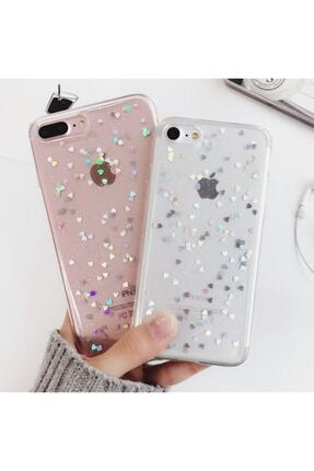 Go Aksesuar Apple Iphone 7 Plus (6,5) Şeffaf Simli Glitter Epoksili Aa Kalite 1