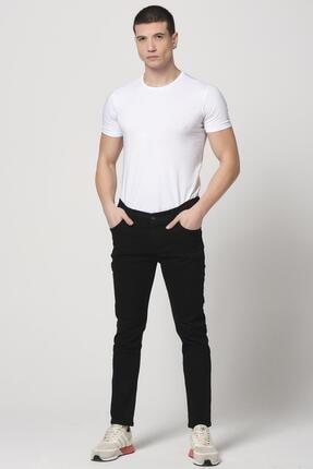 Giymoda Erkek Slim Fit Kot Jean Pantolon Siyah 2