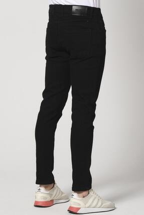 Giymoda Erkek Slim Fit Kot Jean Pantolon Siyah 3