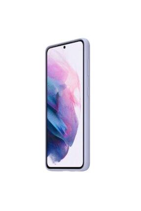 Samsung Galaxy S21 Silikon Kılıf - Mor Ef-pg991tvegww 2