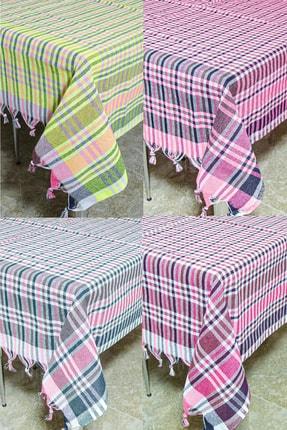 LADYNİL Çok Amaçlı 140x140 4 Lü Piknik Ve Masa Örtüsü Sofra Bezi 0