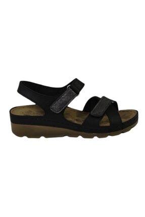 CARLA VERDE Kadın Siyah Sandalet 1