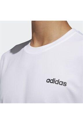 adidas M D2M PL TEE /B Beyaz Erkek T-Shirt 100547711 2