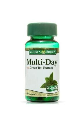 Natures Bounty Multi-day With Green Tea Extract 50 Tablet 0