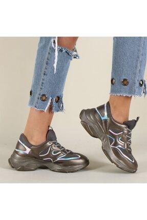 Hammer Jack Platin Kadın Ayakkabı 381 478zn-z 1