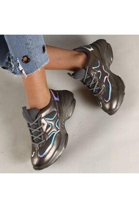 Hammer Jack Platin Kadın Ayakkabı 381 478zn-z 3