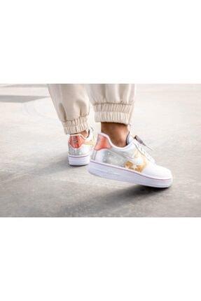 Nike Unisex Beyaz Spor Ayakkabı Aır Force 1 07ct3437 100 4