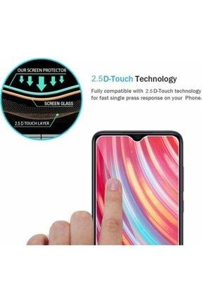 Fibaks Redmi Note 8 9h Uyumlu Temperli Kırılmaz Cam Sert Şeffaf Ekran Koruyucu 2