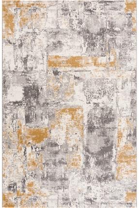 Eryün Halı Gri-Sarı Makine Halısı 18225-070 1
