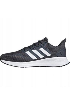 adidas Erkek Gri Runfalcon Koşu Ayakkabısı F36200 2