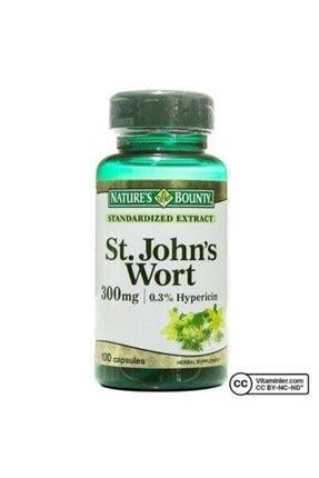 Natures Bounty St. John's Wort 300 Mg 100 Kapsül 0