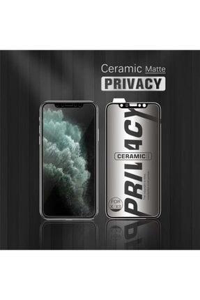 EPRO Xiaomi Redmi Note 8 Gizlilik Filtreli Privacy Mat Seramik Hayalet Ekran Koruyucu Yanlardan Görünmez 3