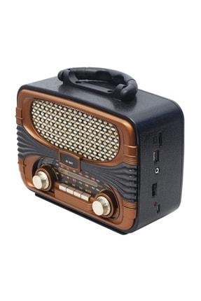 Nostaljik Radyo Usb Sd Fm Bluetooth Aux Radyo Müzik Çalar RADYOÇALAR335