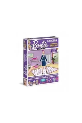 Diytoy Barbie Careers Manyetik Kıyafet Giydirme Oyunu Meslekler 0