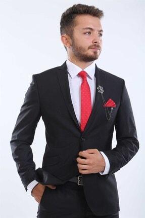 intersivin Slim Fit Siyah Takım Elbise 3