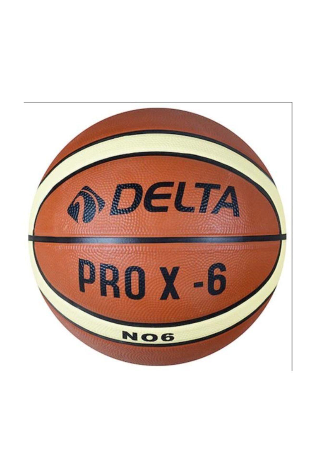 Pro X Deluxe Kauçuk 6 Numara Basketbol Topu