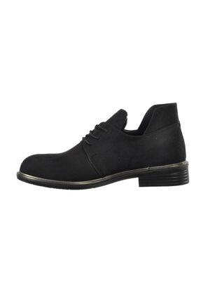 Ermod 105 Siyah Süet Kadın Günlük Ayakkabı 1