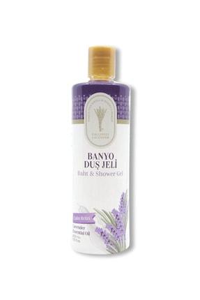 Gallipoli Lavender Lavanta Yağlı Banyo Duş Jeli 400 ml Lavanta Rahatlatıcı Duş Jeli 0