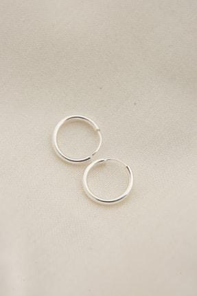Elika Silver Kadın 925 Ayar Gümüş Minimal Küpe 0
