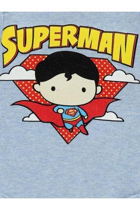 Superman Erkek Bebek Çıtçıtlı Badi 1