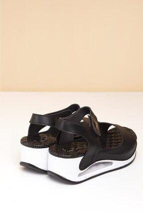 Pierre Cardin Havalı Masaj Taban Topuklu Sandalet 1