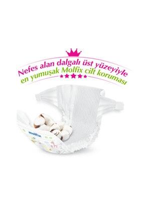 Molfix Pure&soft Bebek Bezi 5 Beden Junior Ultra Fırsat Paketi 132 Adet + Evony Maske 10'lu Hediyeli 2