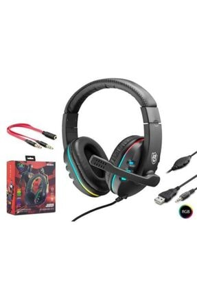 KR -gm101 Kulaklık Miofonlu Pc Oyuncu Kulaklığı 0