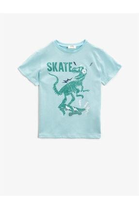 Koton Erkek Çocuk Yeşil T-Shirt 0
