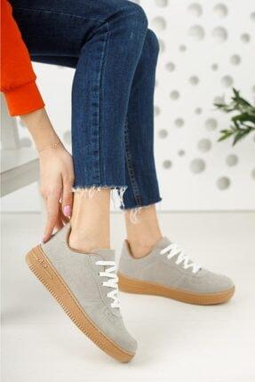 Moda Frato Unisex Gri Spor Ayakkabı 1