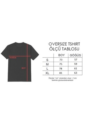 OkeanoX Kadın Gri Oversize Basic Tshirt 2