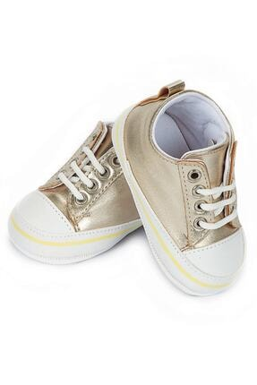 Picture of Bebek Gold Renk Patik Ayakkabı 4206