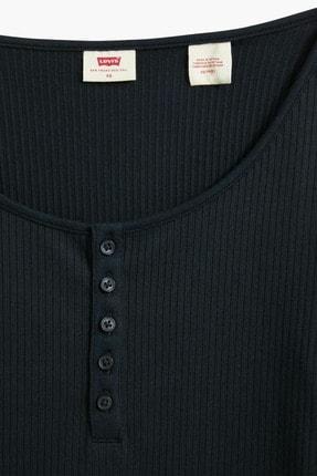Levi's Brandy Ls Tee Caviar Siyah Kadın Tişört 2