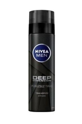 Nivea Tıraş Köpüğü Deep Dimension 200 ml 0