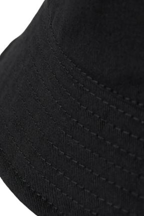 Orçun Özkarlıklı Siyah Bucket Balikçı Şapka 2
