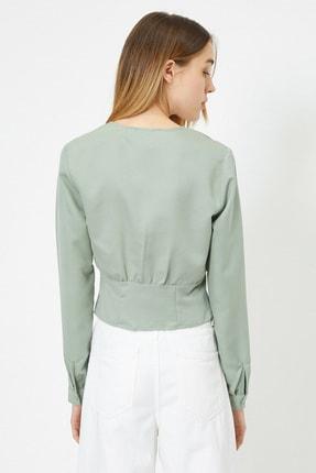 Koton Kadın Su Yeşili Bluz 0KAL68861IW 2